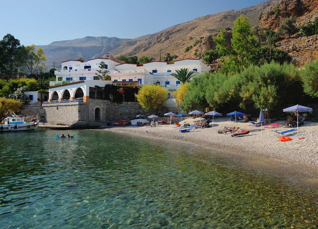 Пляж Финикас в Греции, фото 1