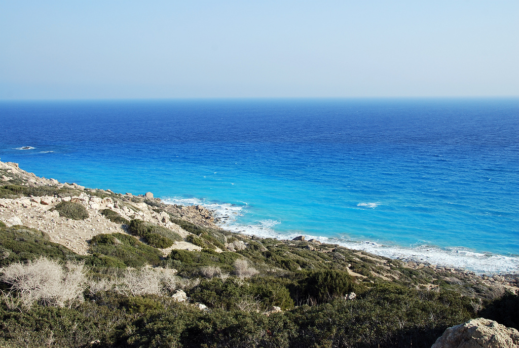 Пляж Голден Бич на Кипре, фото 7