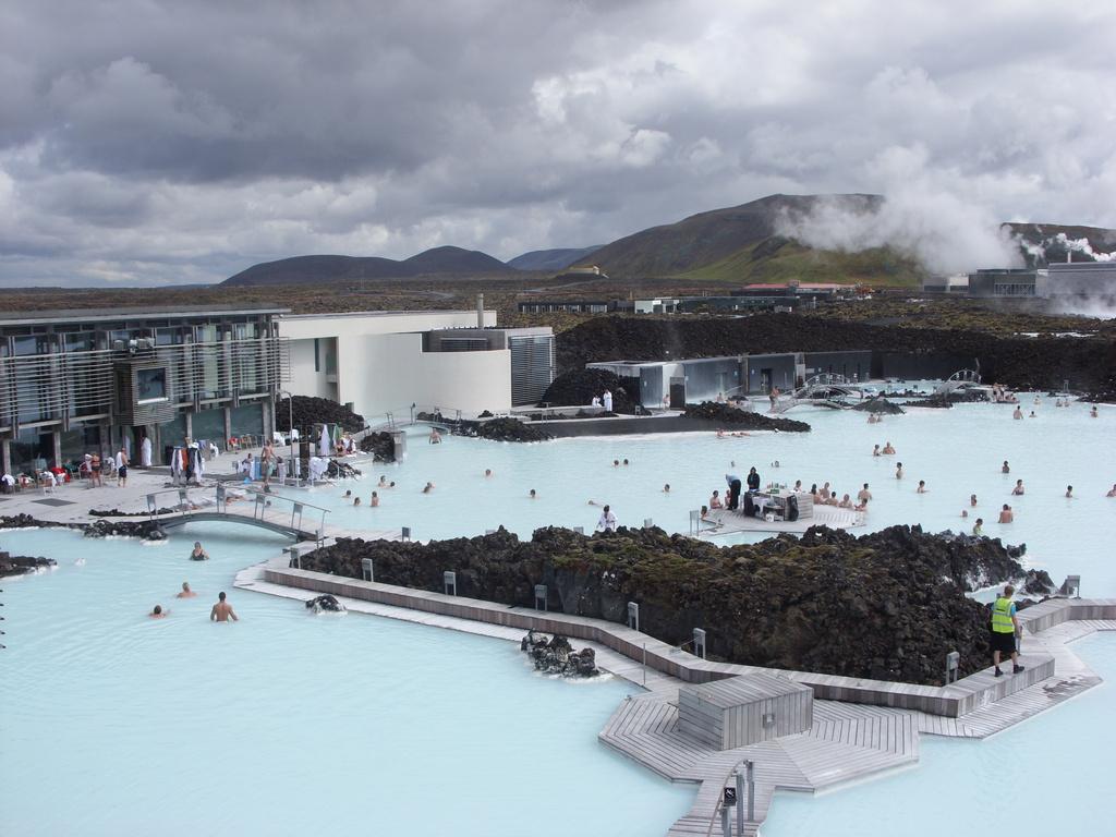 Пляж Голубая Лагуна в Исландии, фото 5