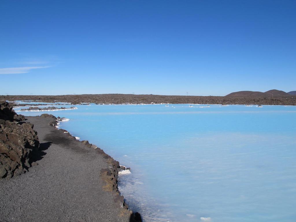 Пляж Голубая Лагуна в Исландии, фото 6