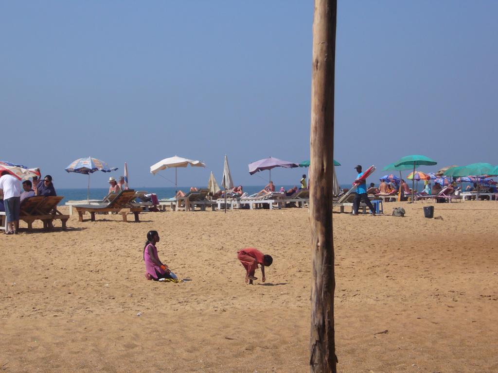 Пляж Кандолим в Индии, фото 1