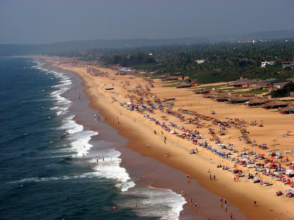 Пляж Кандолим в Индии, фото 2