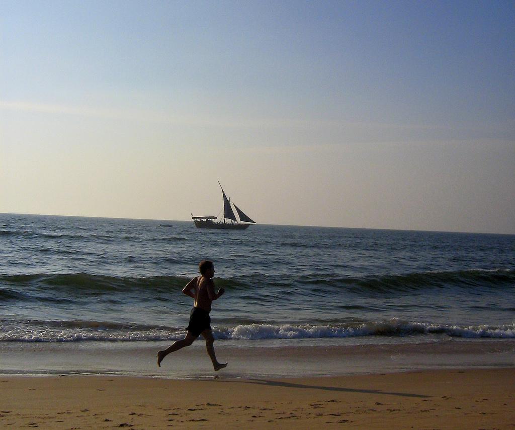 Пляж Кандолим в Индии, фото 4