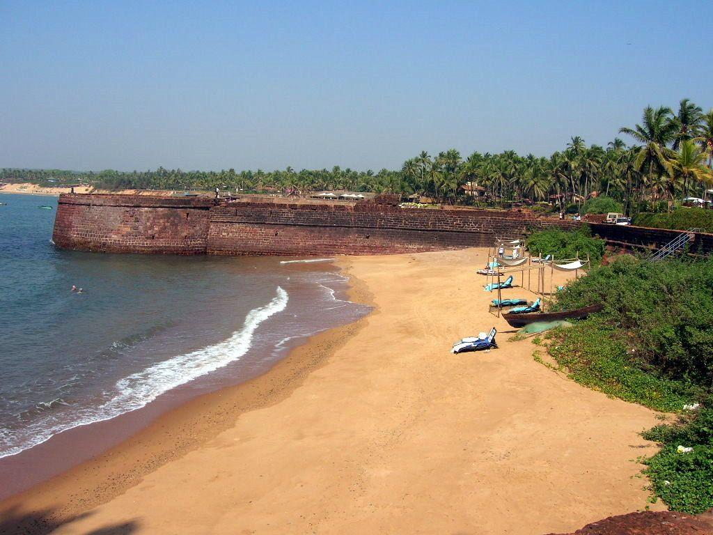 Пляж Кандолим в Индии, фото 6