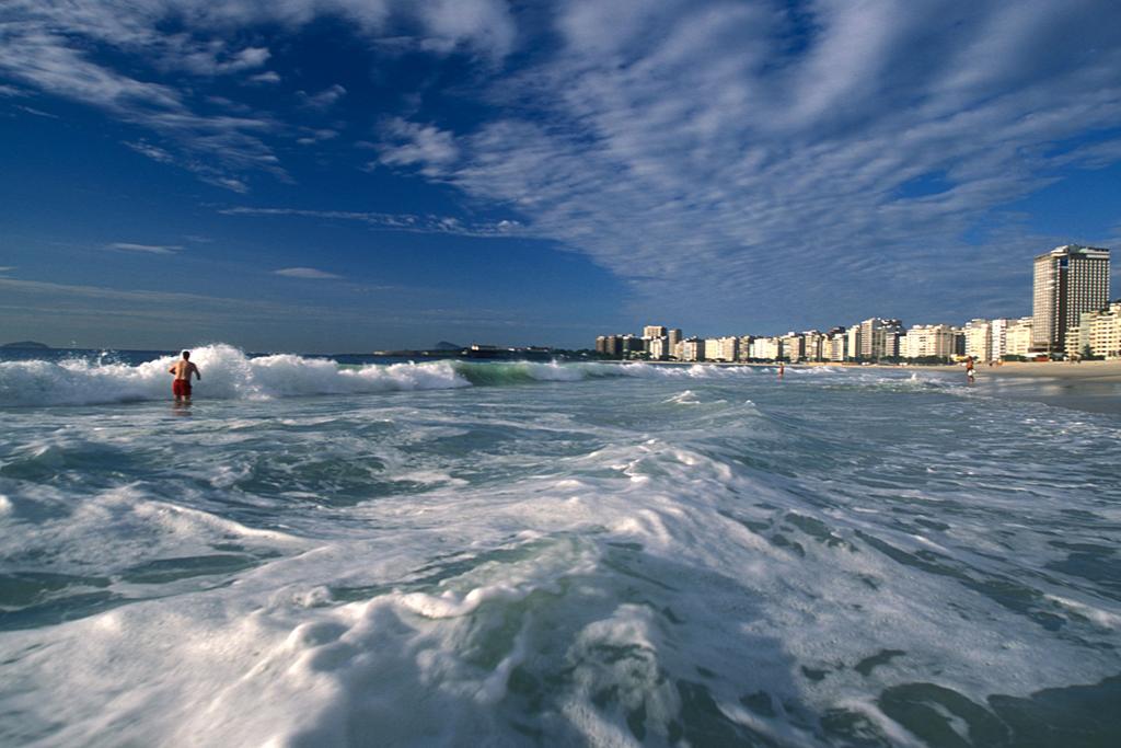 Пляж Копакабана в Бразилии, фото 2