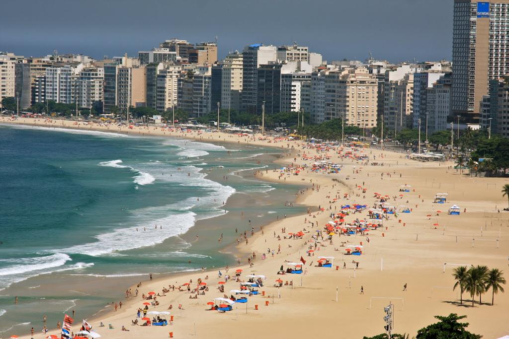 Пляж Копакабана в Бразилии, фото 3