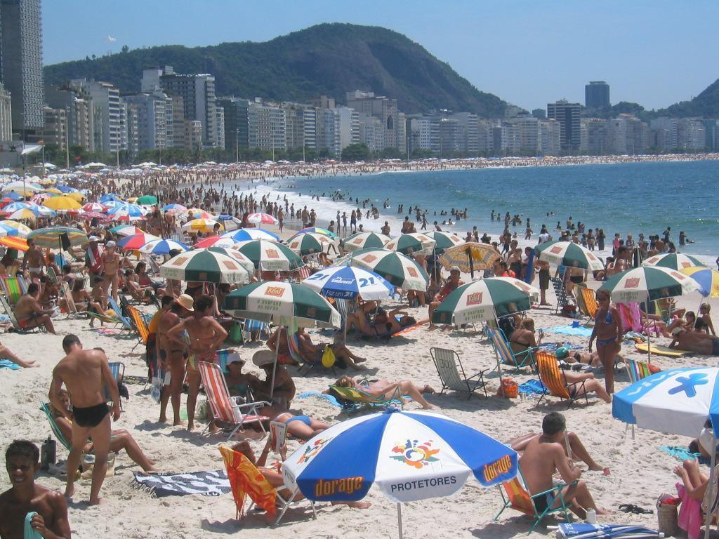 Пляж Копакабана в Бразилии, фото 7