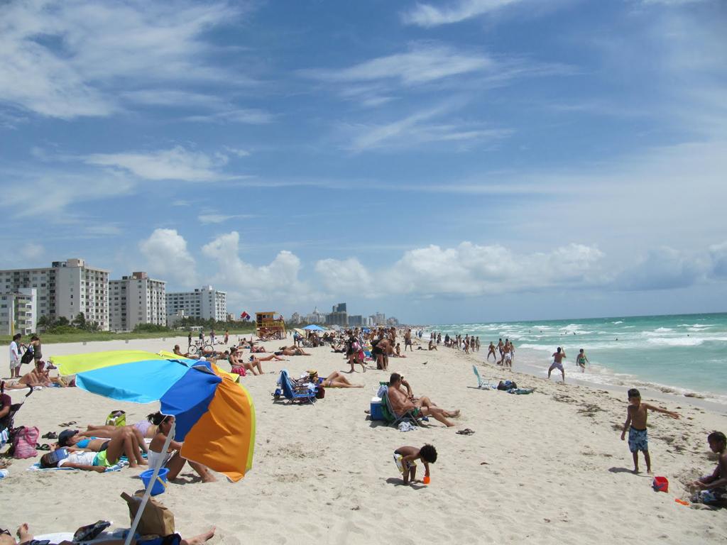 Пляж Маями Бич в США, фото 2
