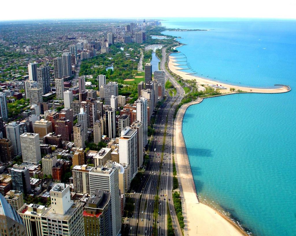Пляж Маями Бич в США, фото 5