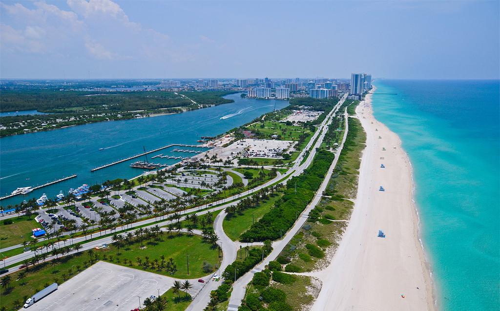 Пляж Маями Бич в США, фото 6