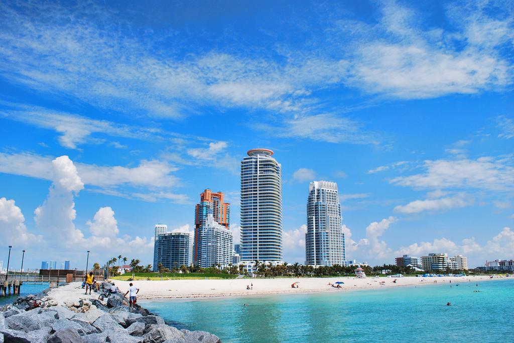 Пляж Маями Бич в США, фото 7