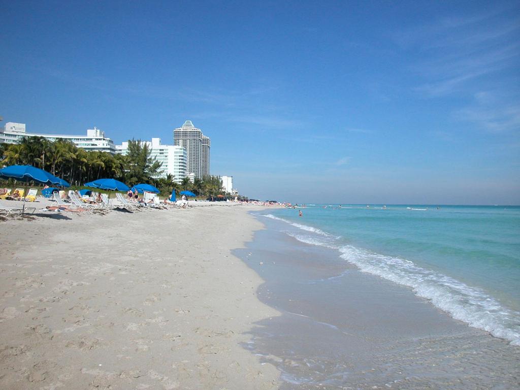 Пляж Маями Бич в США, фото 8