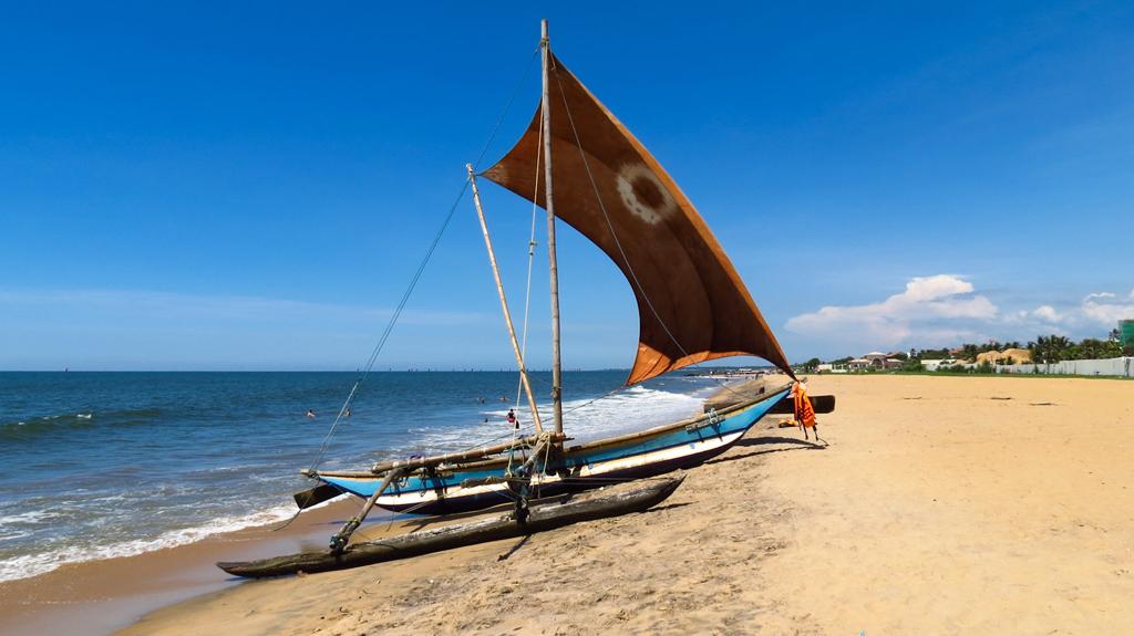 Пляж Негомбо Ко в Шри-Ланке, фото 1