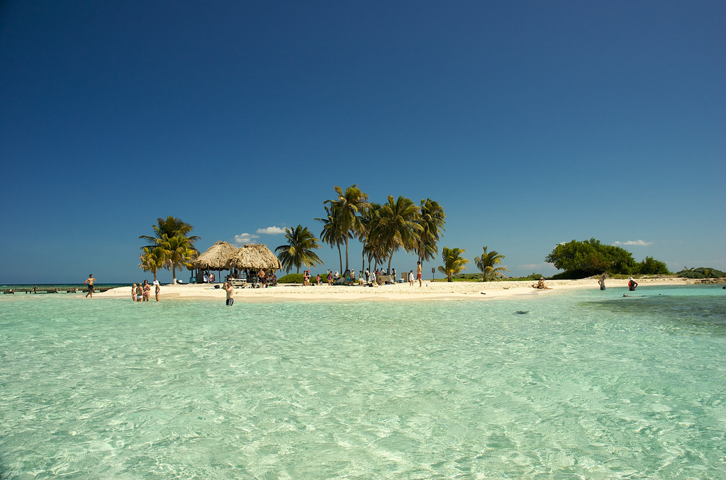 Пляж острова Гоффс Кэй в Белизе, фото 1