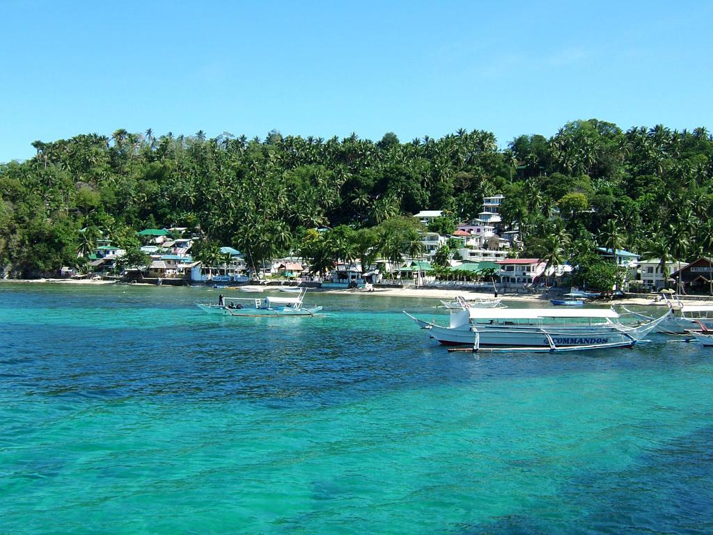 Пляж острова Миндоро в Филиппинах, фото 1