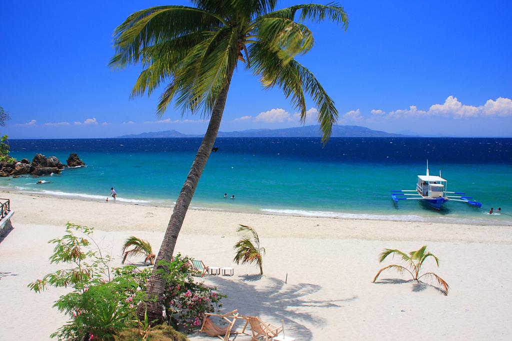 Пляж острова Миндоро в Филиппинах, фото 3