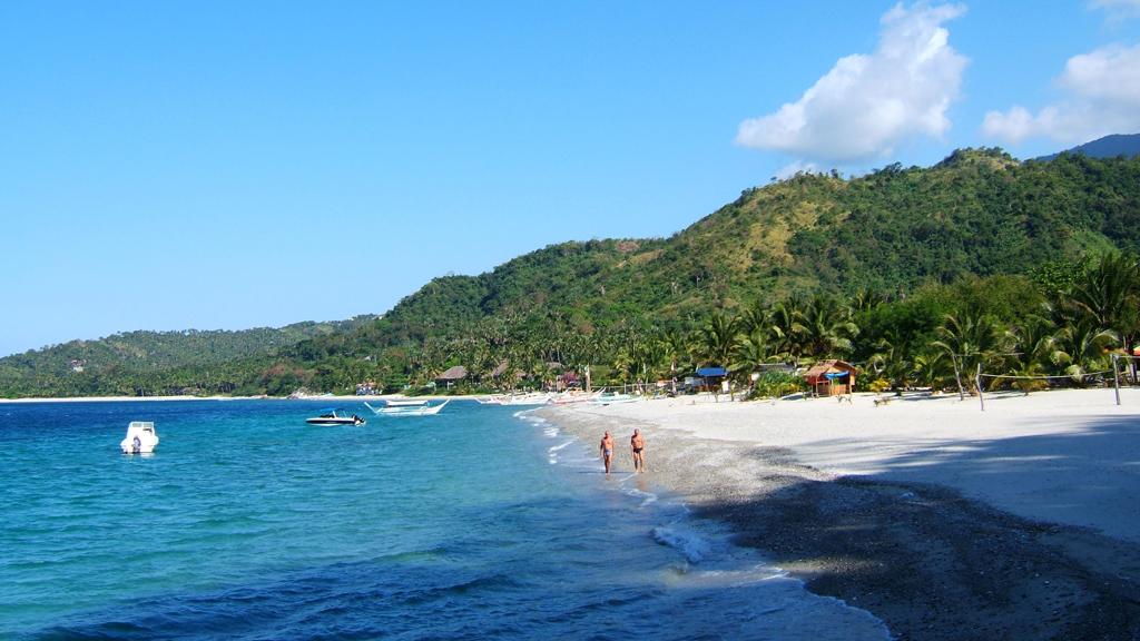 Пляж острова Миндоро в Филиппинах, фото 6