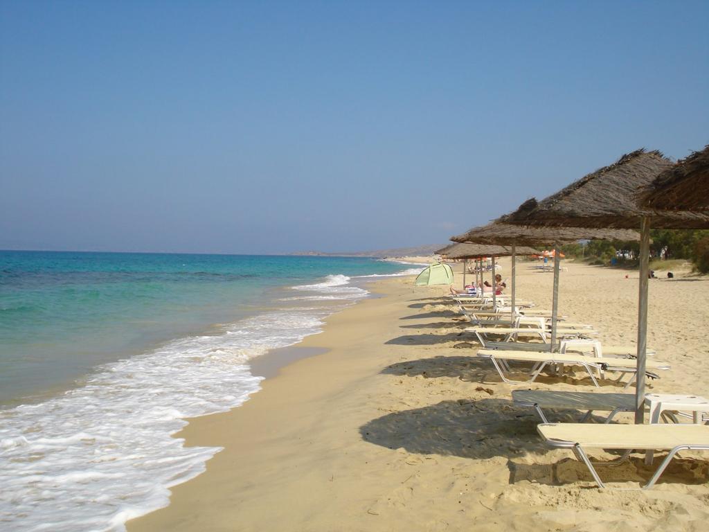 Пляж острова Наксос в Греции, фото 2