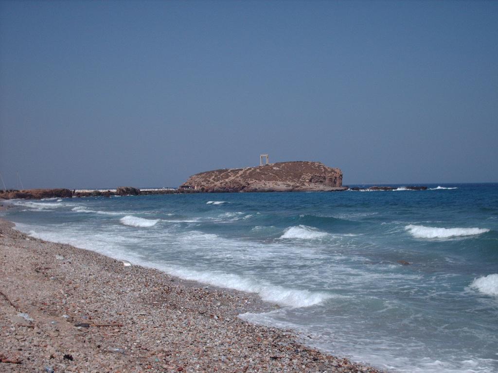 Пляж острова Наксос в Греции, фото 4