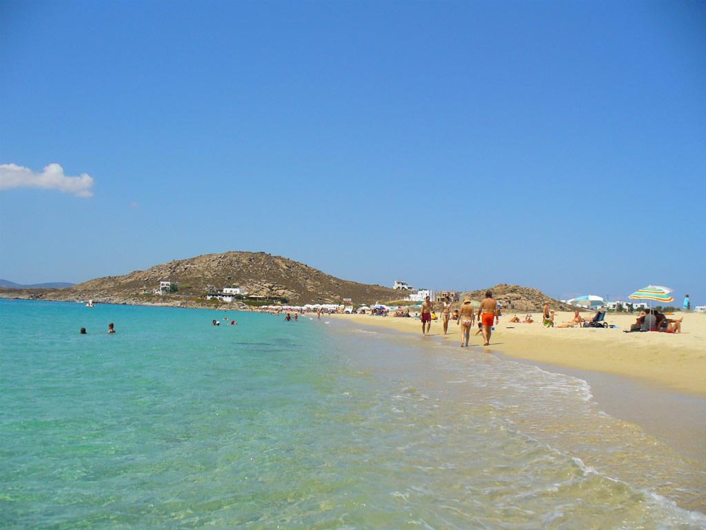 Пляж острова Наксос в Греции, фото 6