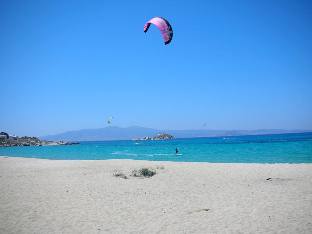 Пляж острова Наксос в Греции, фото 7