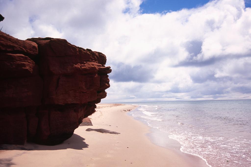 Пляж острова Принц Эдуард в Канаде, фото 3