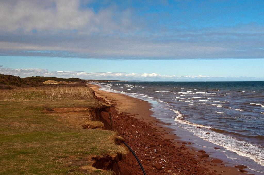 Пляж острова Принц Эдуард в Канаде, фото 4