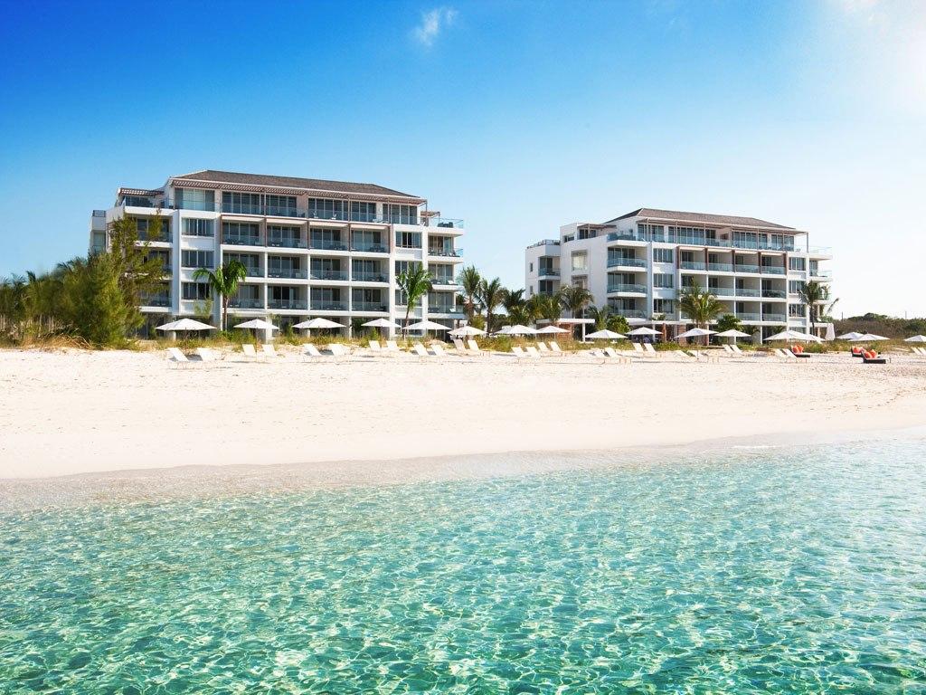 Пляж острова Провиденсиалес на Карибских островах, фото 1
