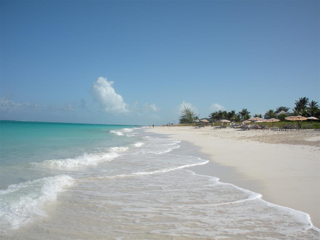 Пляж острова Провиденсиалес на Карибских островах, фото 6