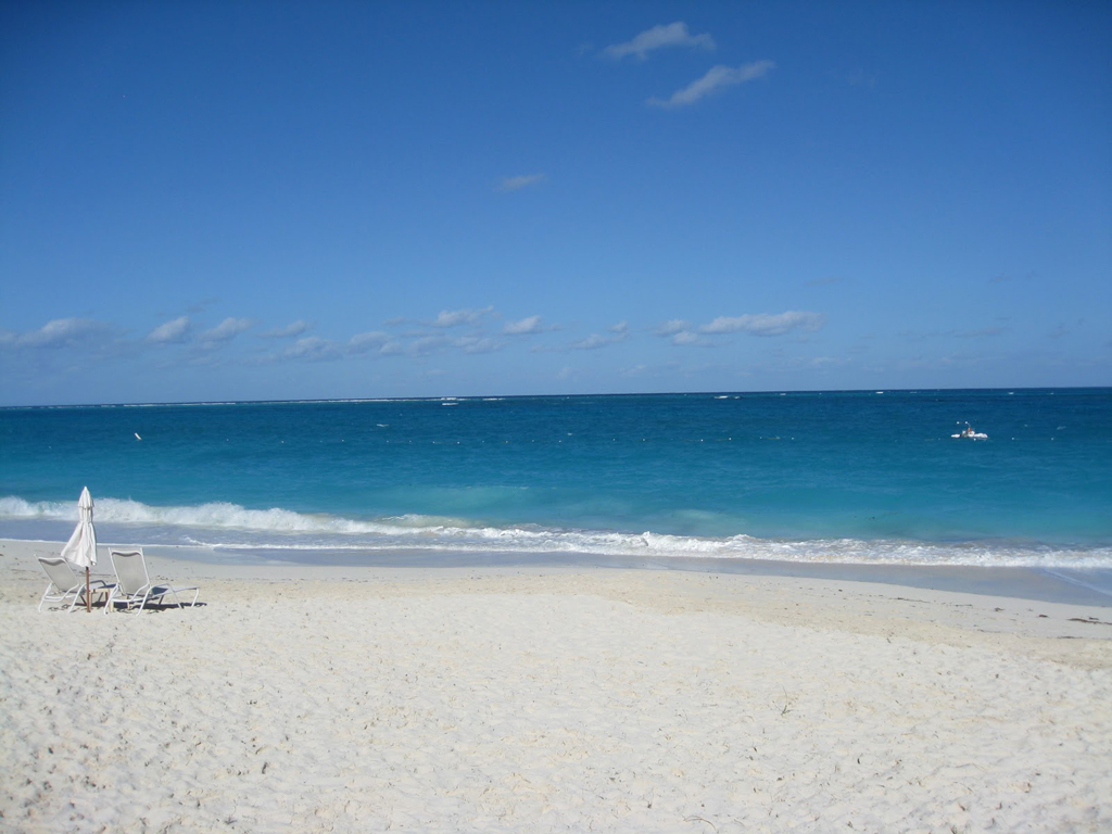 Пляж острова Провиденсиалес на Карибских островах, фото 7