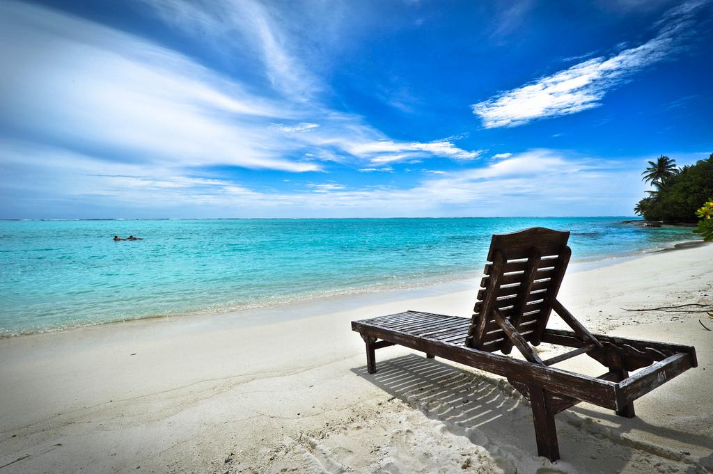 Пляж острова Сан Айлэнд на Мальдивских островах, фото 2