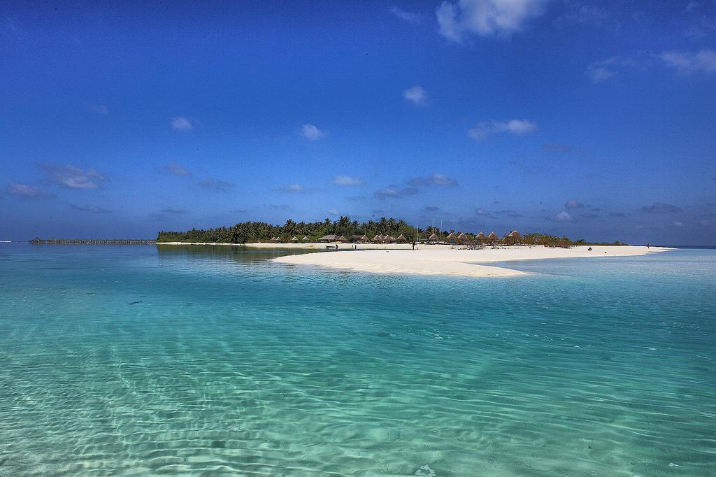 Пляж острова Сан Айлэнд на Мальдивских островах, фото 5