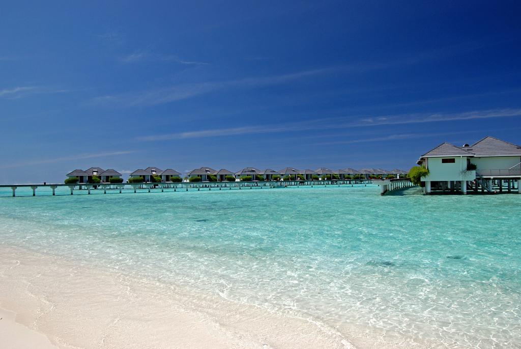 Пляж острова Сан Айлэнд на Мальдивских островах, фото 8