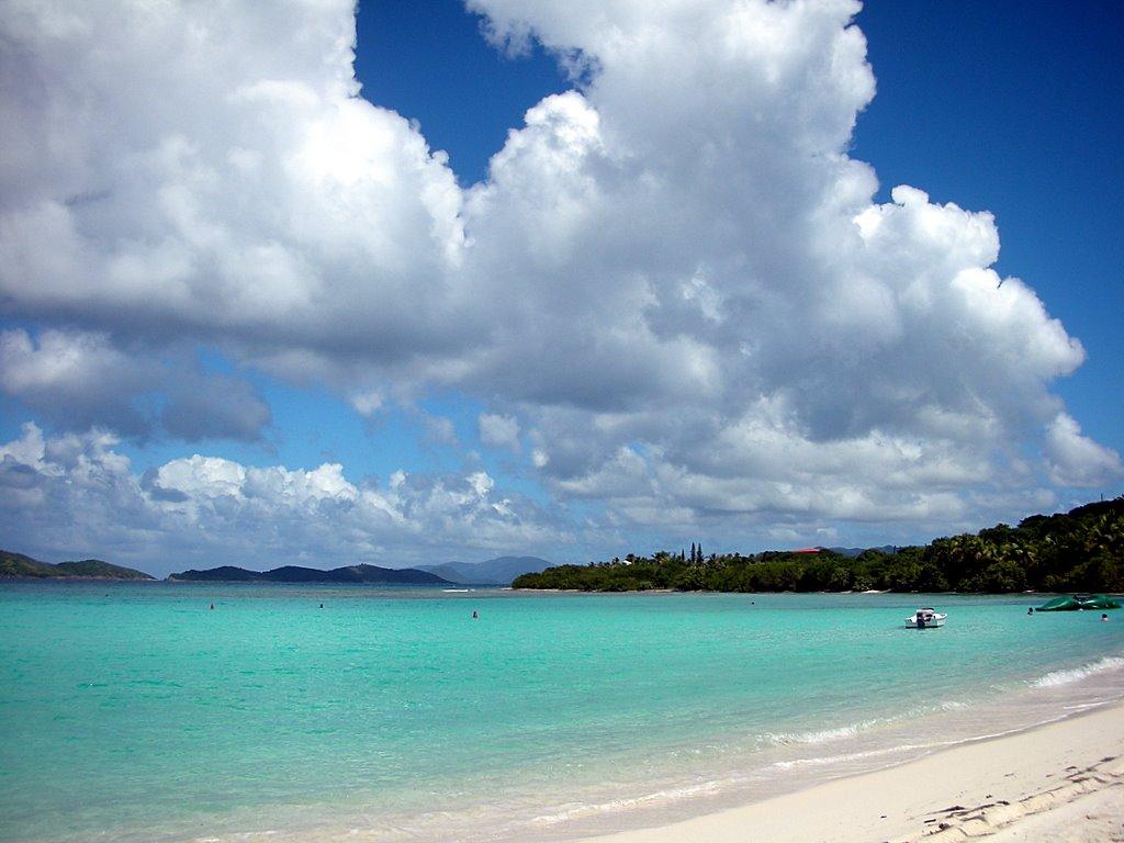 Пляж острова Сент-Крой на Американских Виргинских островах, фото 4