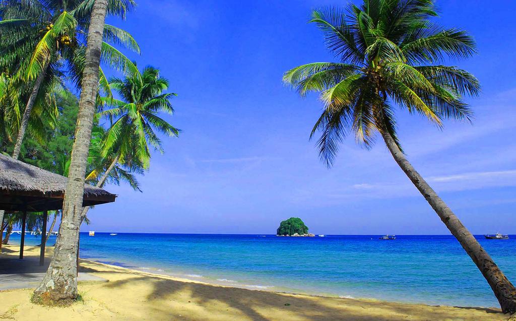 Пляж острова Тиоман в Малайзии, фото 1