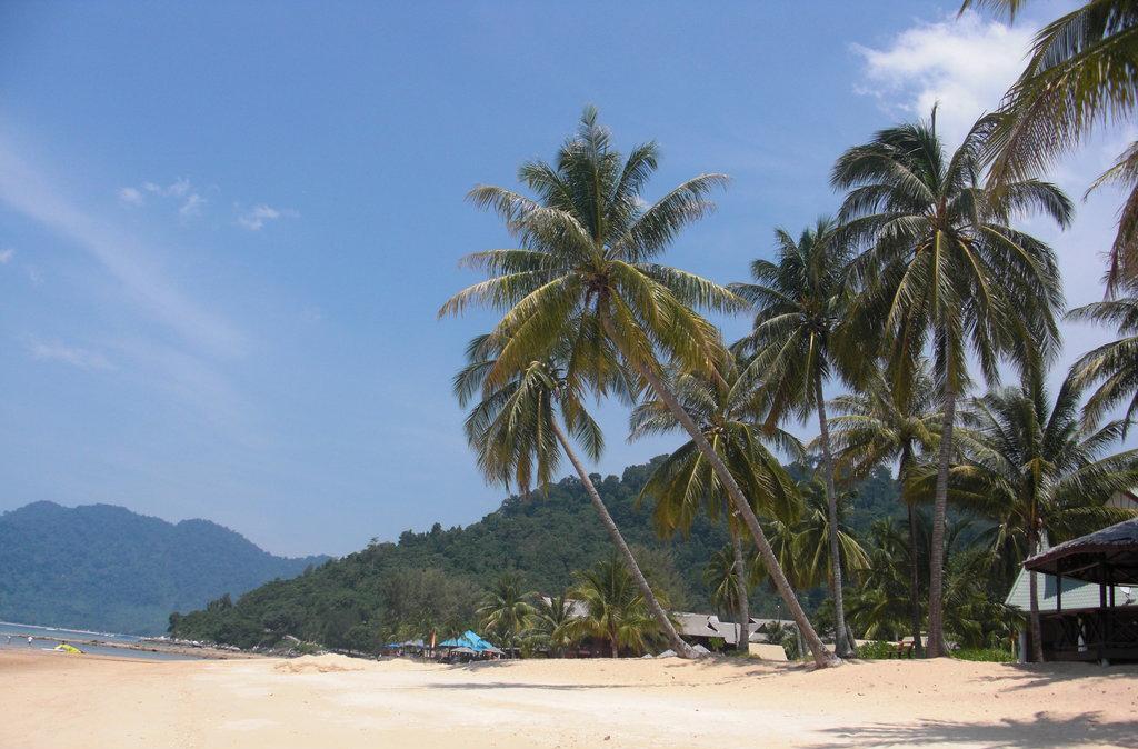 Пляж острова Тиоман в Малайзии, фото 3