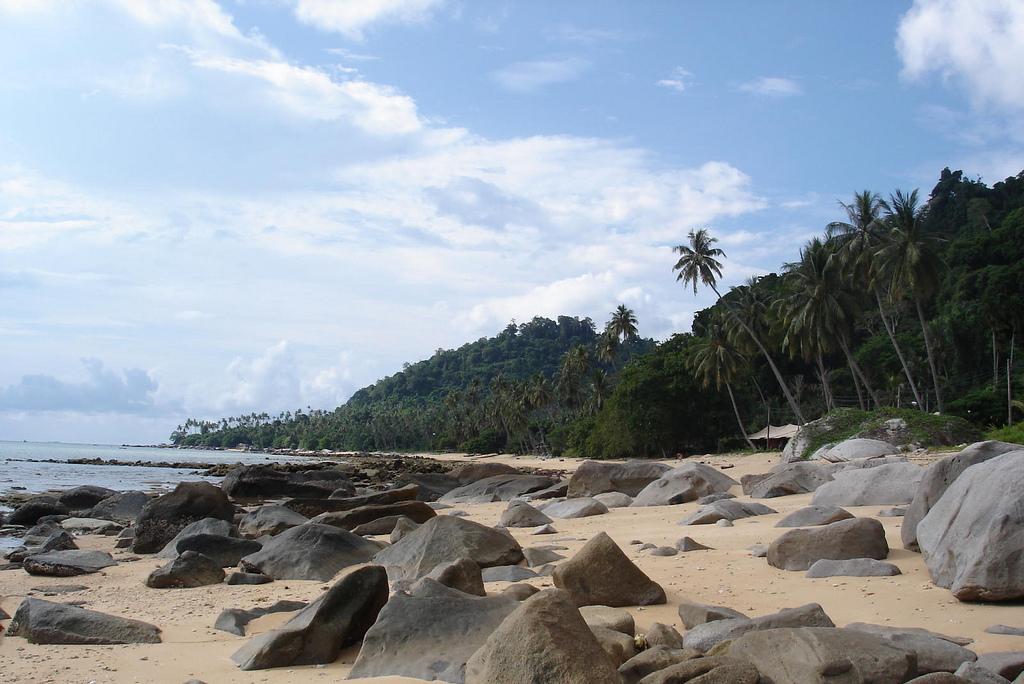 Пляж острова Тиоман в Малайзии, фото 6