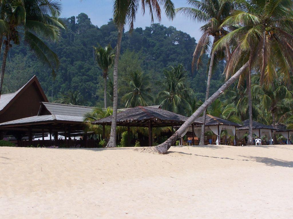 Пляж острова Тиоман в Малайзии, фото 7