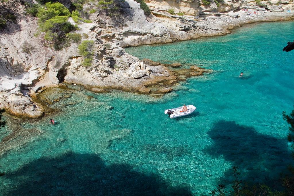 Пляж острова Тремити в Италии, фото 2