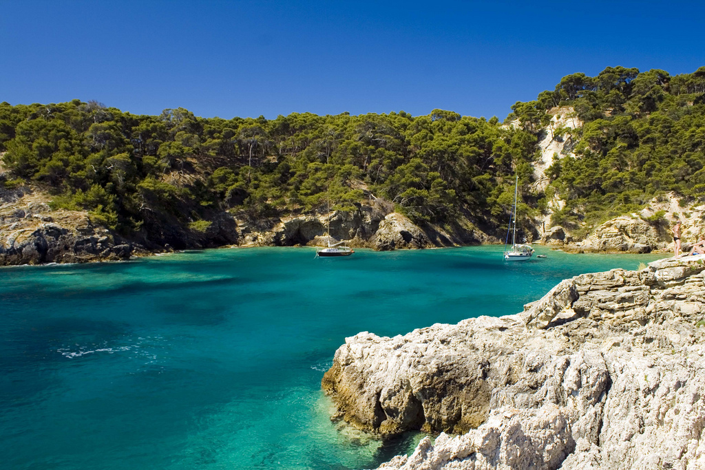 Пляж острова Тремити в Италии, фото 3