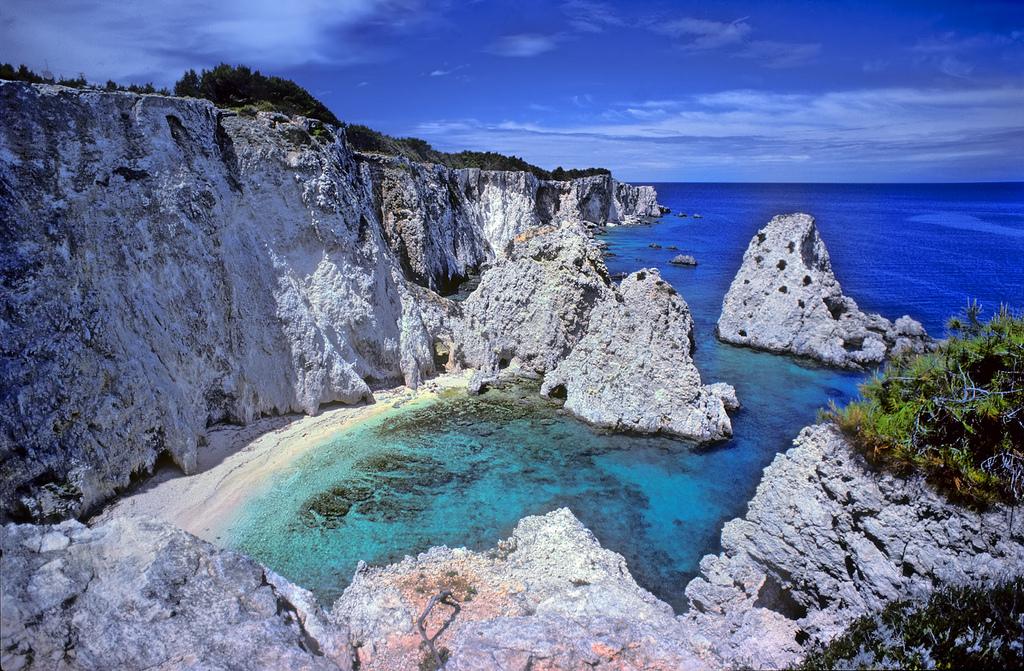 Пляж острова Тремити в Италии, фото 6