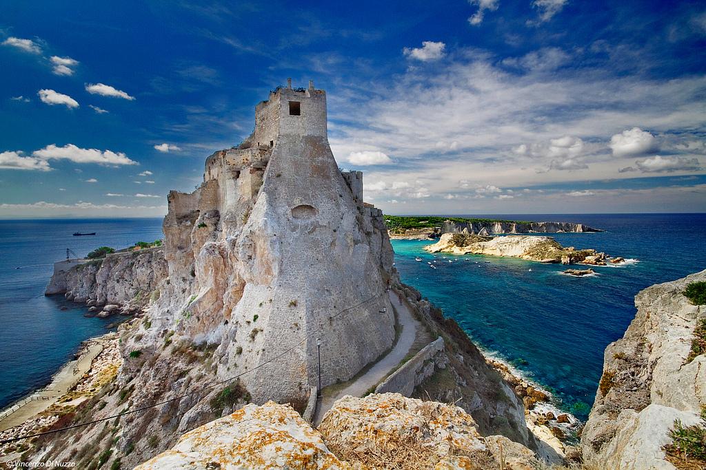 Пляж острова Тремити в Италии, фото 9
