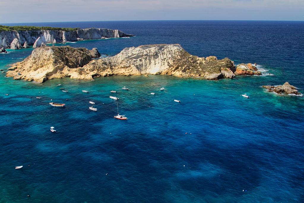 Пляж острова Тремити в Италии, фото 10