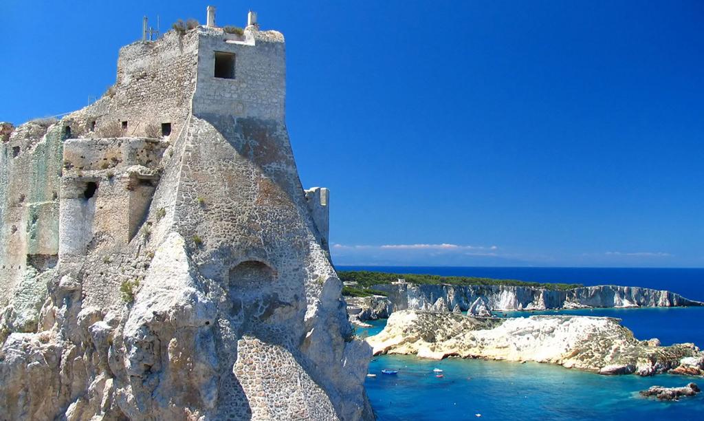 Пляж острова Тремити в Италии, фото 12