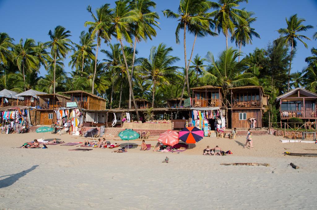 Пляж Палолем в Индии, фото 1
