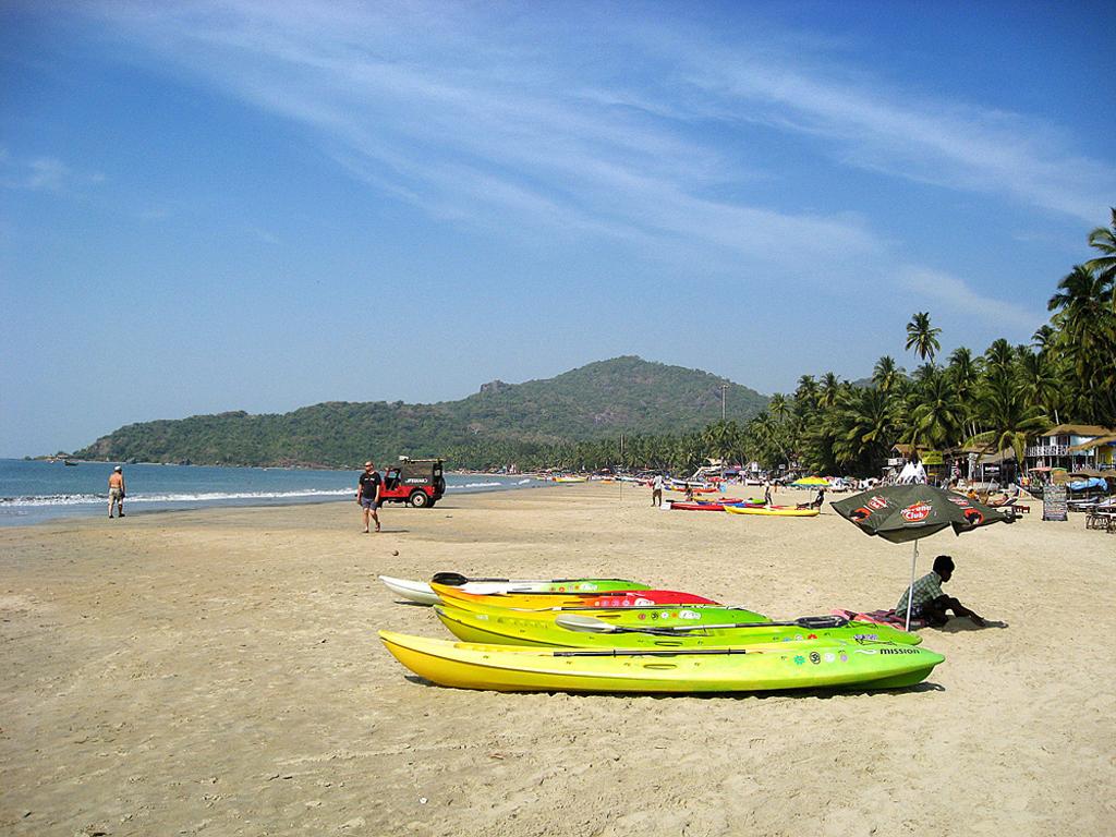 Пляж Палолем в Индии, фото 7