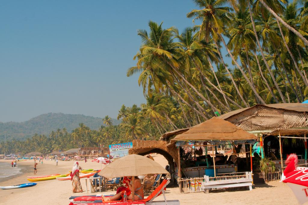 Пляж Палолем в Индии, фото 10