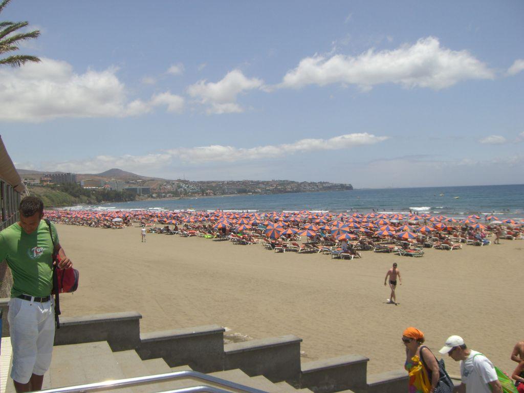 Пляж Плайя-дель-Инглес в Испании, фото 2