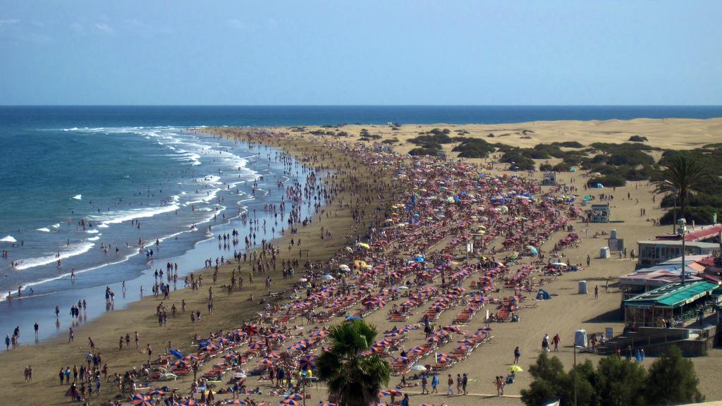 Пляж Плайя-дель-Инглес в Испании, фото 4