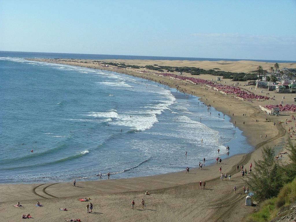 Пляж Плайя-дель-Инглес в Испании, фото 5